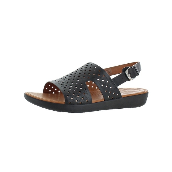 65273f734d Shop Fitflop Womens H-Bar Slingback Sandals Leather Sandals - Free ...