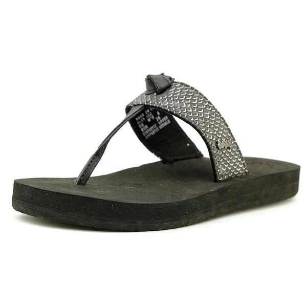 Reef Star Cushion Open Toe Synthetic Thong Sandal
