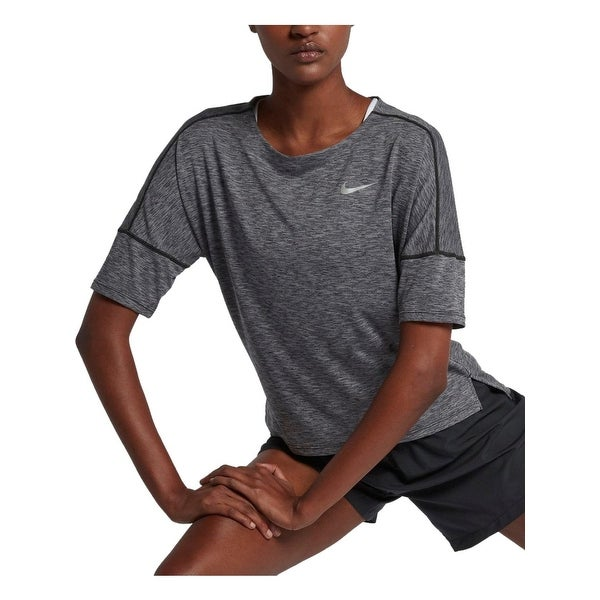 63ca84f05b53ec Shop Nike Womens Pullover Top Cropped Dri-Fit - Free Shipping On ...