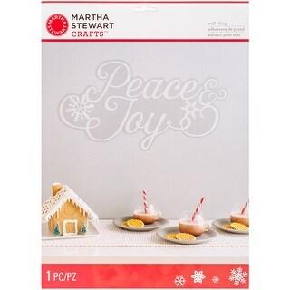 Winter Frost - Joyeux Noel Wall Cling