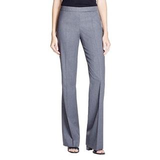 BOSS Hugo Boss Womens Tulea Pants Wool Side Zip