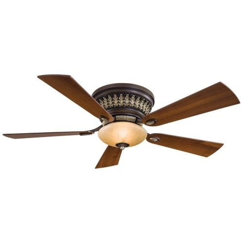 """MinkaAire Calais 5 Blade 52"""" Ceiling Fan - Integrated Light, Handheld Remote Control and Blades Included"""