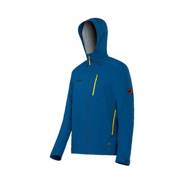the best attitude ffe16 c2c5f Mammut Kento Men, Super lightweight rain jacket, Waterproof Breathable,  DryTech - dark cruise - S