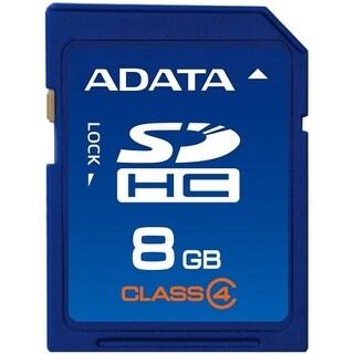 Adata ASDH8GCL4-R Adata ASDH8GCL4-R 8 GB SDHC - Class 4 - 1 Card