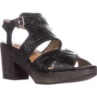 Patricia Nash Viola Mule Clog Sandals, Black - 8.5 us / 38.5 eu