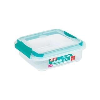 14pcs Clear Plastic Food Microwave Storage Boxes With Multi Colour Lids BFA Free