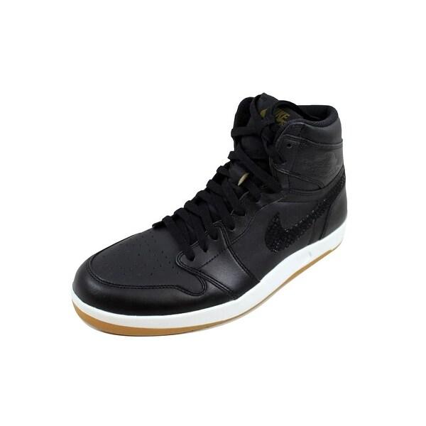 4c18788a180f32 Shop Nike Men s Air Jordan I 1 High The Return Black Militia Green ...