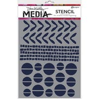 "Dina Wakley Media Stencils 9""X6""-Mini Favorites"