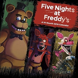 Five Nights At Freddys Mini Calendar 2018 - multi