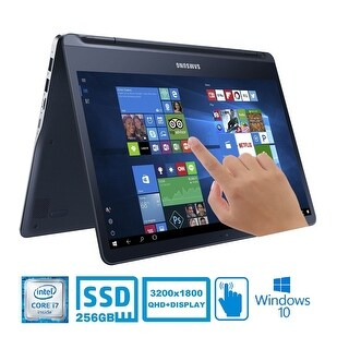 Samsung 13.3 Notebook 9 Spin QHD+ Touch Intel Core i7 256GB SSD 2-in-1 Laptop