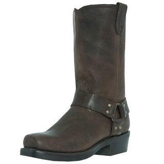 Dingo Motorcycle Boots Mens Jay Harness Gaucho Nutty Mule DI19074