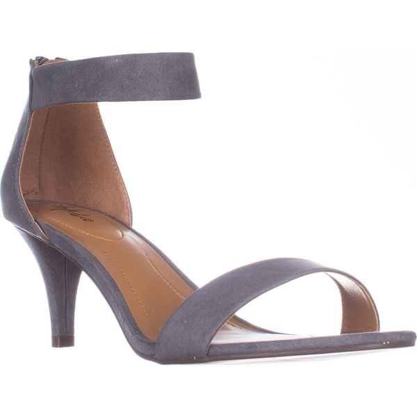 SC35 Paycee Dress Heels Sandals, Iron