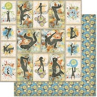 """Teenagers Double-Sided Cardstock 12""""X12""""-Street Dancing"""
