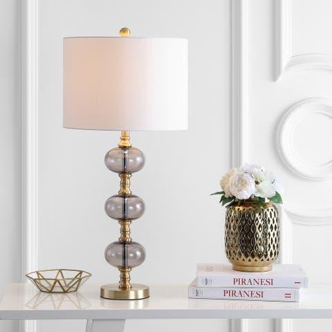 """Safavieh Lighting 30"""" Marcelo LED Table Lamp (Set of 2) - 14""""x14""""x30"""""""