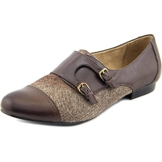 Naturalizer Learner Round Toe Leather Loafer