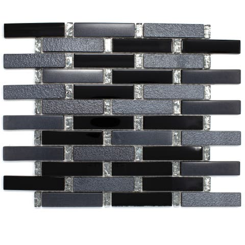 Buy Black Matte Backsplash Tiles Online At Overstock