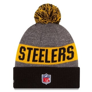 New Era Pittsburgh Steelers Beanie Sideline Knit Cap Hat NFL Team Sport 11289062