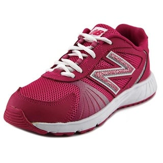 New Balance KJ555 W Round Toe Synthetic Walking Shoe