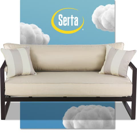"Serta Catalina Outdoor 64"" Sofa in Bronze"