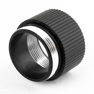 Unique Bargains Extension Ring Tube Joint Adapter for Rechargeable Flashlight 18650 Battery
