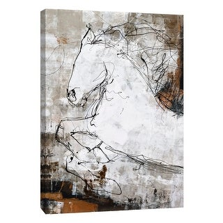 """PTM Images 9-105132  PTM Canvas Collection 10"""" x 8"""" - """"Riptide 1"""" Giclee Abstract Art Print on Canvas"""
