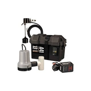 Liberty Pumps 441 Battery Back Up Sump Pump System (1830 GPH @ 10') - na