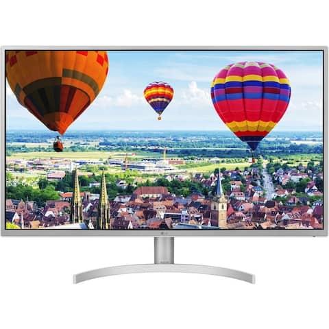 "LG 32QK500-C 1440p 31.5"" IPS FreeSync Monitor,Silver(Certified Refurbished)"