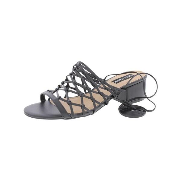 Design Lab Womens Mya Heels Wrap Open Toe