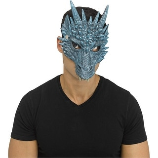 Adult Blue Ice Dragon Viserion Character Mask - Standard - One Size