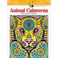 Dover Publications-Creative Haven: Animal Calaveras