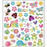 Bugs In Color - Multicolored Stickers
