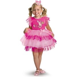 Winnie the Pooh Frilly Piglet Toddler Costume S (2T)