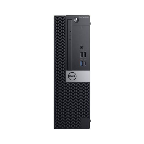Dell Optiplex 5060 Intel Core i7-8700 X6 4.6GHz 16GB 500GB Win10,Black(Certified Refurbished)