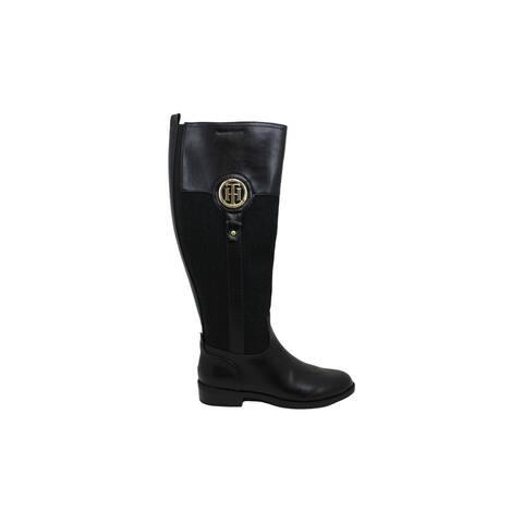 Tommy Hilfiger Womens lila 2 Closed Toe Knee High Fashion Boots