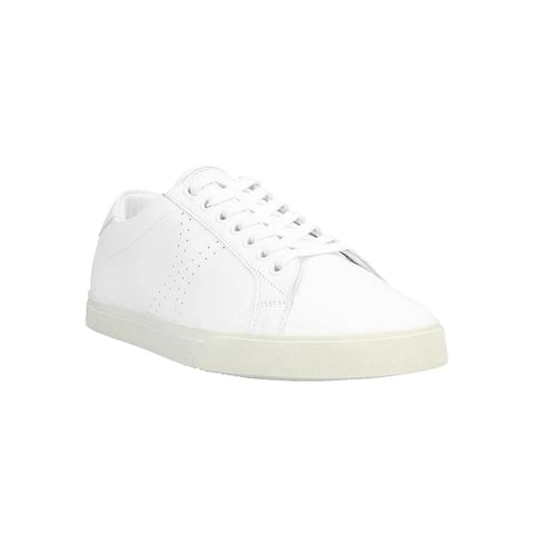 CELINE Women's Leather Triomphe Low Top Sneakers Shoes White