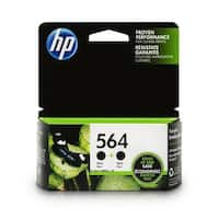 HP 564 Black original Ink Cartridges Twin Pack (C2P51FN)