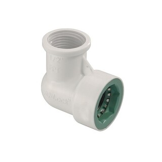 Orbit 33775 PVC-Lock Female Pipe Thread Elbow, 1/2""