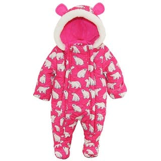 Wippette Newborn Girls Polar Bear Microfiber Quilted Snowsuit Snow Pram Suit|https://ak1.ostkcdn.com/images/products/is/images/direct/ba58872ac8ffc1e1525c3dd4fb4ca772b0b50e8f/Wippette-Newborn-Girls-Polar-Bear-Microfiber-Quilted-Snowsuit-Snow-Pram-Suit.jpg?impolicy=medium