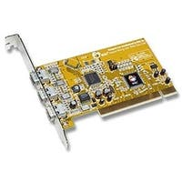 SIIG Controller Card NN-400012-S8 3-Port 1394 PCI Adapter