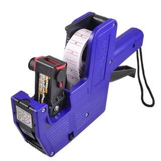 Unique Bargains Blue Plastic Housing Handheld Shopping Price Labeller Labeler Tag Gun