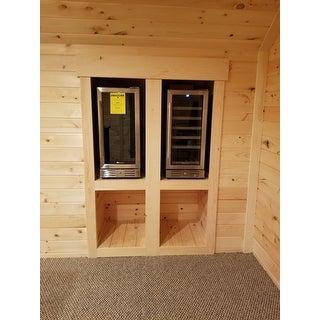 Shop Kalamera 15'' Wine Cooler Refrigerator Chiller 30 ...