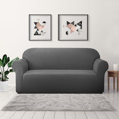 Subrtex Stretch Sofa Slipcover 1 Piece Spandex Furniture Protector