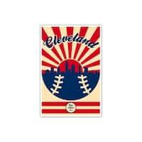 Cleveland Indians Vintage MLB Poster Matte Poster 16x24