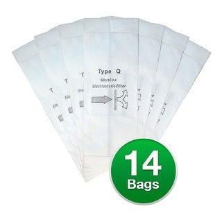 Replacement Type Q Vacuum Bag for Royal RY2000 Bag Model(2 Pack)
