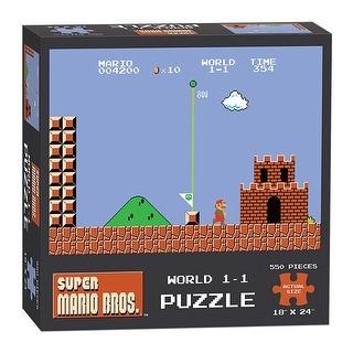 Super Mario Bros. World 1-1 550-Piece Puzzle