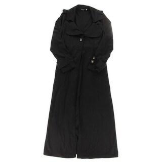 Ruiyige Womens Coat Long Flyaway - XL