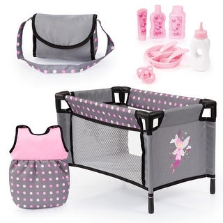 Link to Baby Doll Travel Bed and accessories set Similar Items in Dolls & Dollhouses