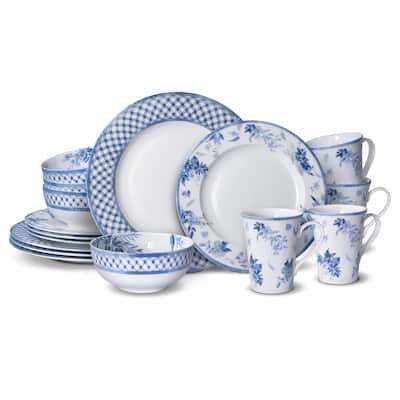 MIkasa Kiley Bone China 16PC Dinnerware Set (Service for 4)