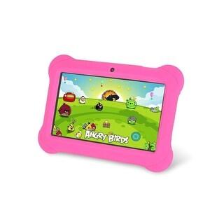 "Worryfree Gadgets Kidszeepad-Pnk Zeepad 4Gb Android 4.4 Kitkat 7"" Kids Tablet - Pink"