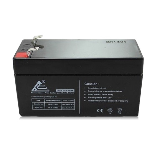 Replacement AGM SLA Battery 12V-1.3Ah Single Pack Replacement AGM SLA Battery